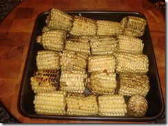 Finished Corn on the Cob