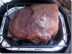 Pork Butt After 10 hours
